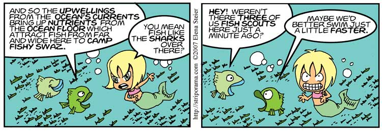 Meanwhile, back in the Ocean…