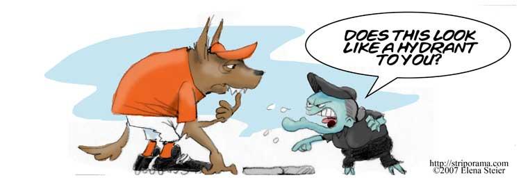 Werewolves make lousy First Basemen