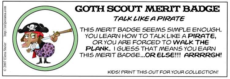 Silly Merit Badges