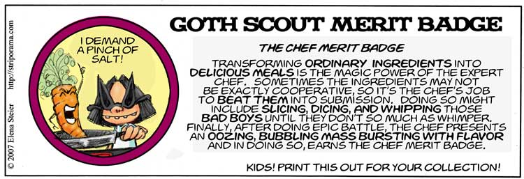 The Chef Merit Badge