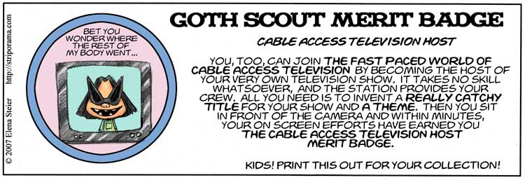 Cable Access Host Merit Badge