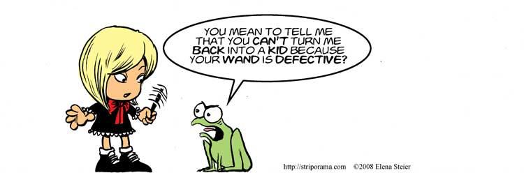Defective Wand